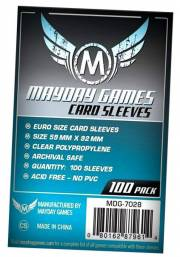 acceder a la fiche du jeu 59x92mm Euro Standard  - Sleeves Mayday