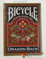 acceder a la fiche du jeu Jeu de cartes CLASSIC Bicycle gold dragon