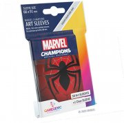 acceder a la fiche du jeu Gamegenic - Marvel Champions Art Sleeves - Spider-Man (50+1 Sleeves)